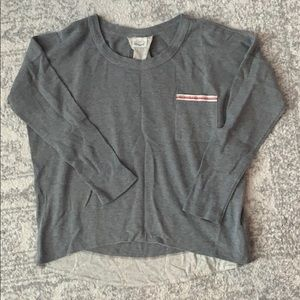 Lucky Brand Gray Thermal Sz M/L